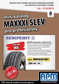 MAXXXI Katalog 08/2015