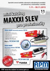 Mini katalog MAXXXI slev 11/2015
