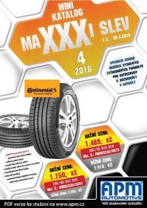 MAXXXI slevy 04/2016
