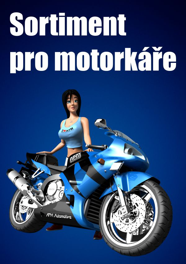 Sortiment pro motorkáře